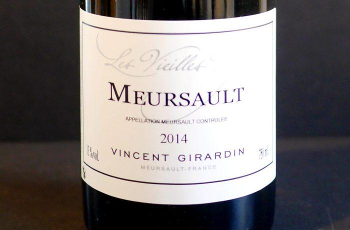 Meursault 2014 Vincent Girardin