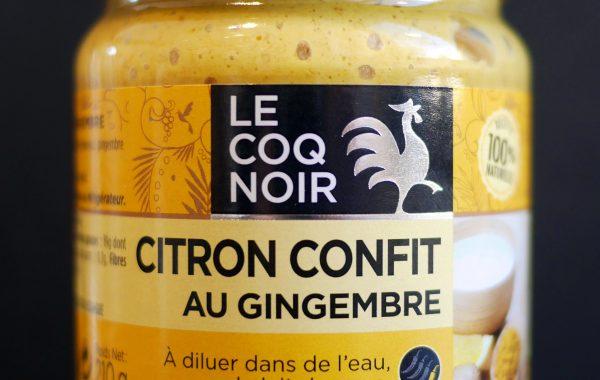 Pate de citron confit au gingembre