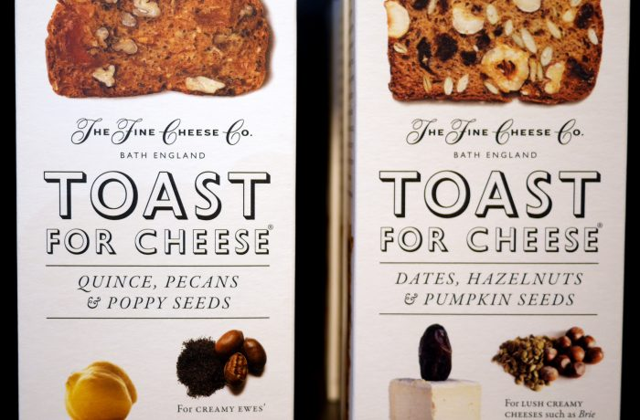 Toast for cheese
